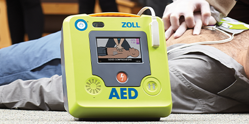 AED (ZOLL) Installed