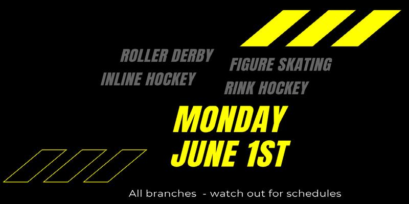 Roller Sports Open Date
